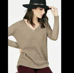 Pullover Popcorn Stitch Sweater
